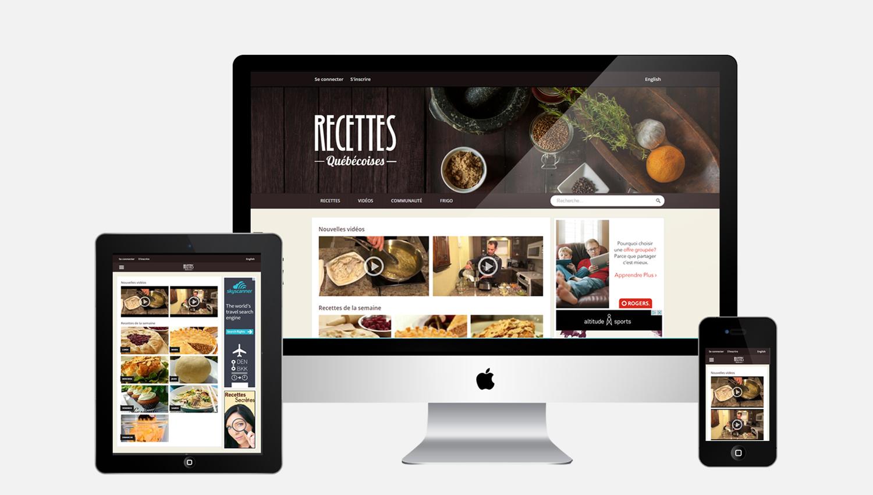 recettesquebecoises.com vous aide à trouver les meilleures recettes avec les ingrédients que vous avez au réfrigérateur.